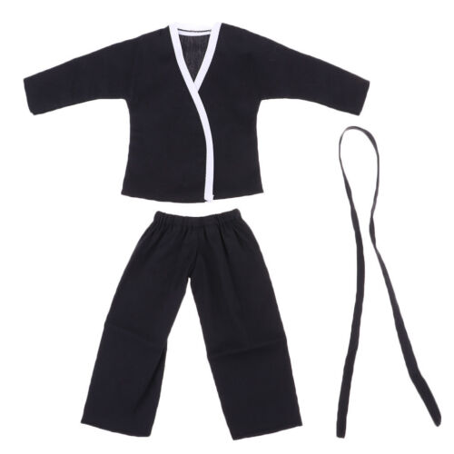 1//6 Male Judogi Judo Suit Men Judo Uniform for 12/'/' Phicen Figure Doll Toys