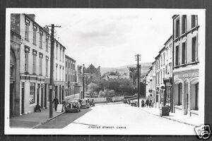 Cahir rppc Castle Street Shops Cars Tipperary Ireland 50s