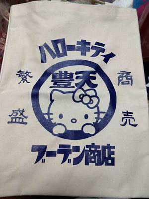 Hello Kitty SANRIO x Buden shouten Collaboration Tote bag Japan limited Rare F//S