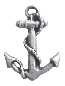 Pewter Anchor Pin Badge