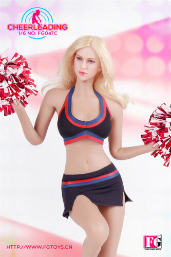 In-Stock 1//6 Scale Fire Girl FG047 Female Cheerleader Suit 12in Clothes Set