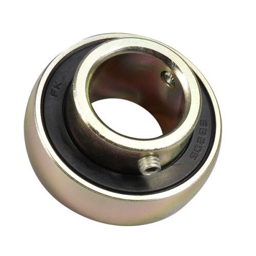 "SB206-18 1-1//8/""Bore Spherical Set Screw Insert Bearing 1-1//8/"" x 62mm OD FK Brand"