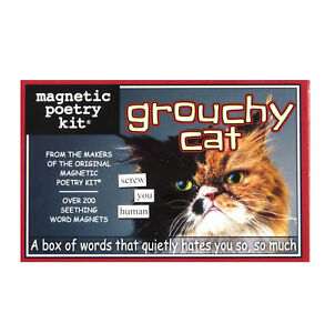 Grouchy-Cat-Fridge-Magnet-Set-Poetry