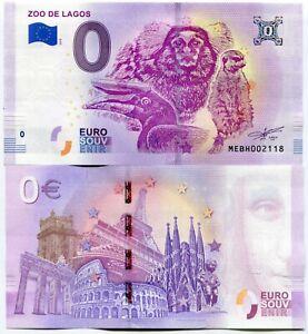 Zoo-de-Lagos-2019-Series-1-Portugal-0-Euro-Souvenir-Note