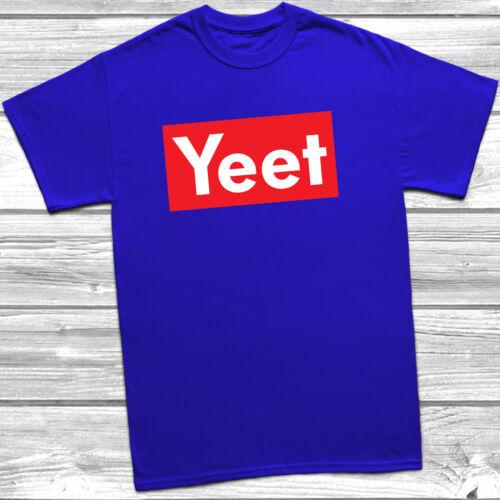 Yeet T-Shirt Funny Meme Slogan Children/'s Kids Gift Present Birthday Tee Top