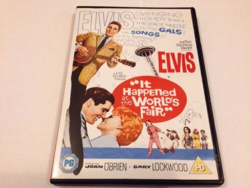 1 of 1 - IT HAPPENED AT THE WORLD'S FAIR DVD - ELVIS - 1962 - UK RELEASE - FREE POST NEW