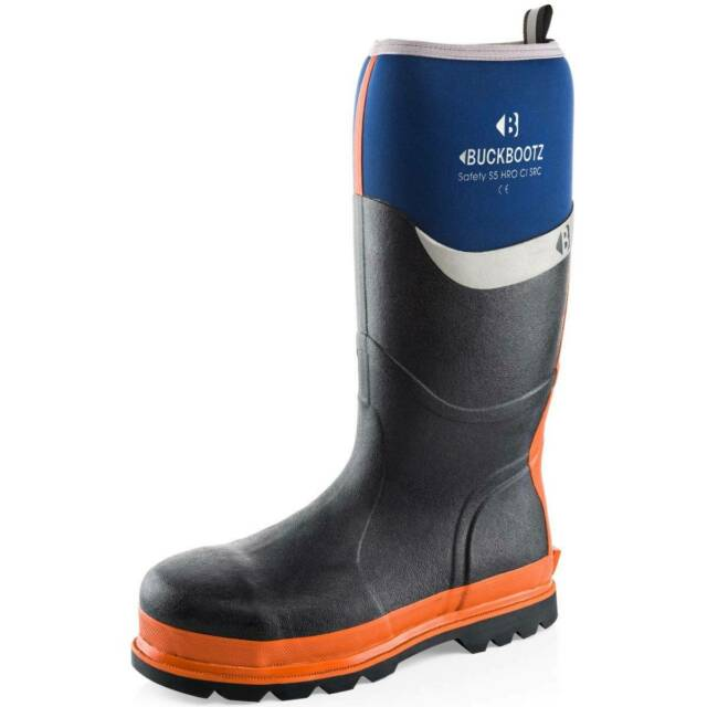 Buckler BBZ6000 S5 blue safety wellington Buckbootz knee length boot