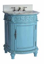"""26""""  Hand Painted Catalina Bathroom Sink Vanity  Model # CF-4409W"""