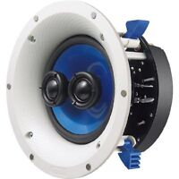 Brand Yamaha Ns-ics600 60w+60w Rms Speaker, White/blue