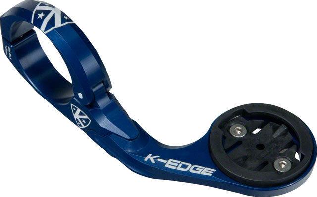 New K-EDGE Pro Garmin Handlebar Mount  31.8mm bluee