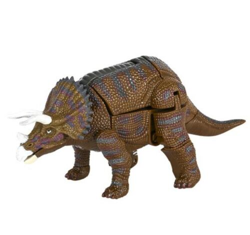 """4/"""" Triceratops Animal Bots Figurine Transformers Jouet Dinosaure Robots in Disguise"""