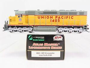 HO-Scale-Atlas-Master-9291-UP-Union-Pacific-SDP-35-Diesel-Locomotive-1405-DCC