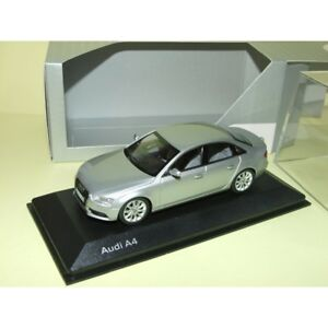 AUDI-A4-B8-Phase-2-Gris-Ice-Silver-MINICHAMPS-1-43