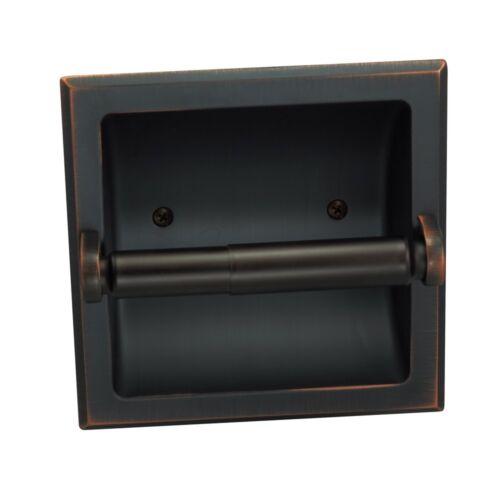 Naples Oil Rubbed Bronze Recessed Toilet Tissue Paper Holder #49687