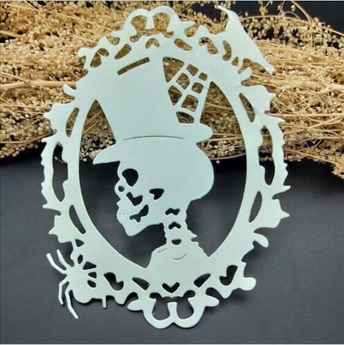 Skeleton Metal Cutting mold Scrapbooking Embossing Dies Stencils Craft Decoratio