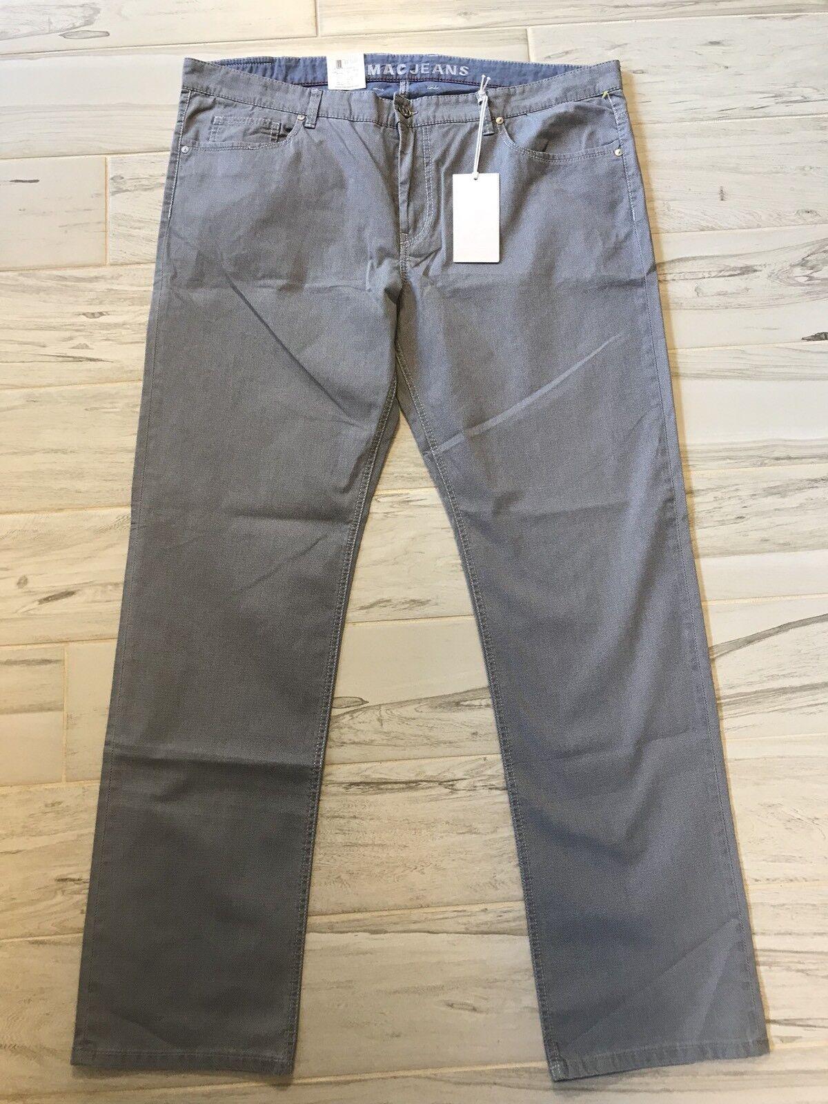 New Mac Mens Arne Jeans Pants bluee Modern Fit - Size W42 X L34