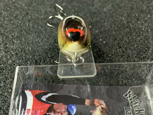 BL 1.5 Black Label Balsa Balsa Squarebill Crankbait HD Craw Color RC 1.5