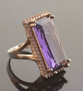 TURKISH-HANDMADE-AMETHYST-STERLING-SILVER-925K-RING-SIZE-6-7-8-9