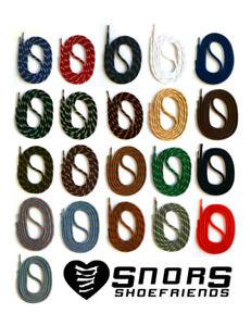 LACETS-ronds-75-200cm-pour-Chaussures-de-Travail-Randonnee-Bottes-Securite-SNORS