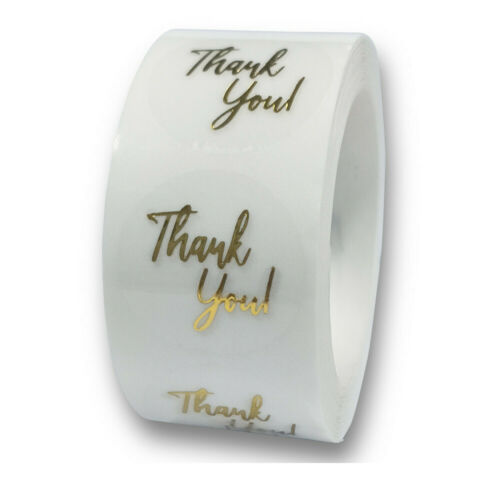 label Wreath Gift Paper Sticker Thank You Stickers Sealing Craft Self Adhesive