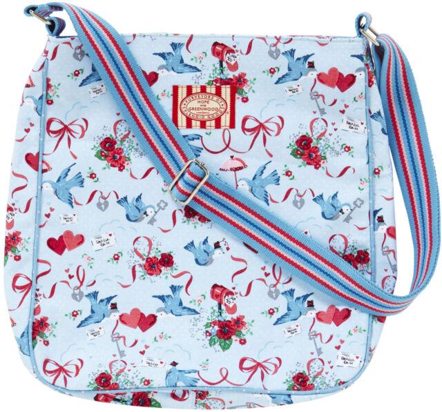 RRP £40 JAN CONSTANTINE Designer BOHO HEART Messenger Bag ULSTER WEAVERS