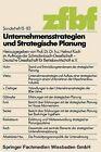Unternehmensstrategien Und Strategische Planung by Helmut Koch (Paperback / softback, 1983)