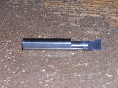 "New 1//4/"" Solid Carbide Boring Bar ABB-258 TiAlN .245/"" Minimum Bore"