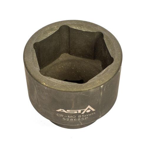 "Heavy Duty 100mm Long 6PT 528685P 85mm Metric 1/""Dr Short Impact Socket 6 Point"