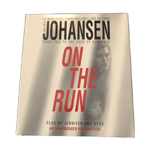 ON THE RUN  by Iris Johansen Audiobook 8 CDs Unabridged New Sealed Unopened