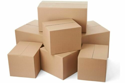 "14/"" x 10/"" x 4/"" Cardboard Boxes Mailing Packing Shipping Box Corrugated Carton"