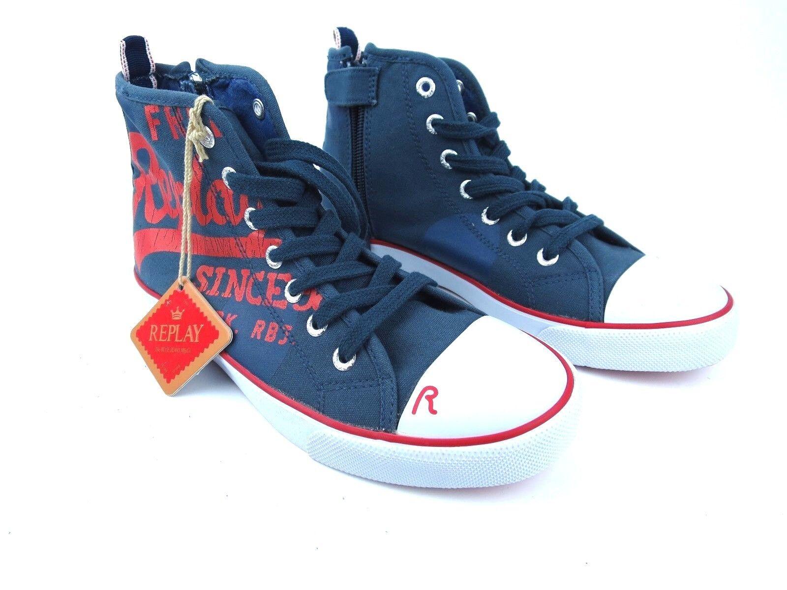 REPLAY Boys Kinder Jungen Mädchen Sneaker Boys REPLAY Girls Unisex Schuhe Sneakers GBV08 45T b2a510