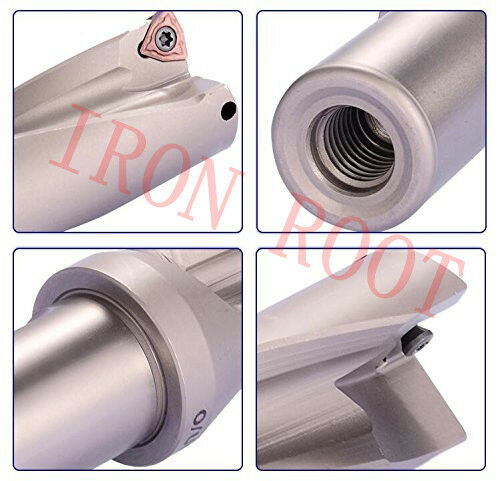 1P C32-4D30-124 WC05 U drill// indexable drill //30mm-4D with+2PCS WCMX 050308