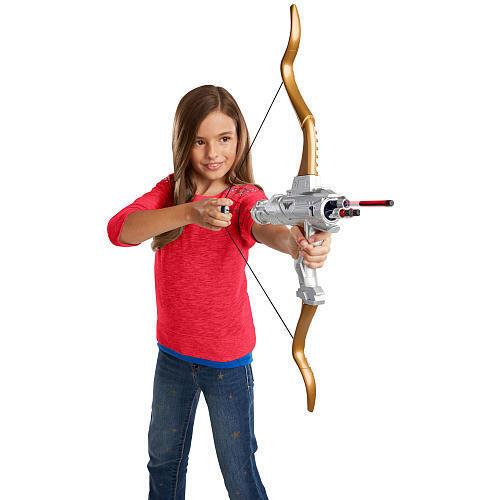 "DC Comics Wonder woman hero Play Action Bow /& Arrow /""NERF style/"" Doux Dart"