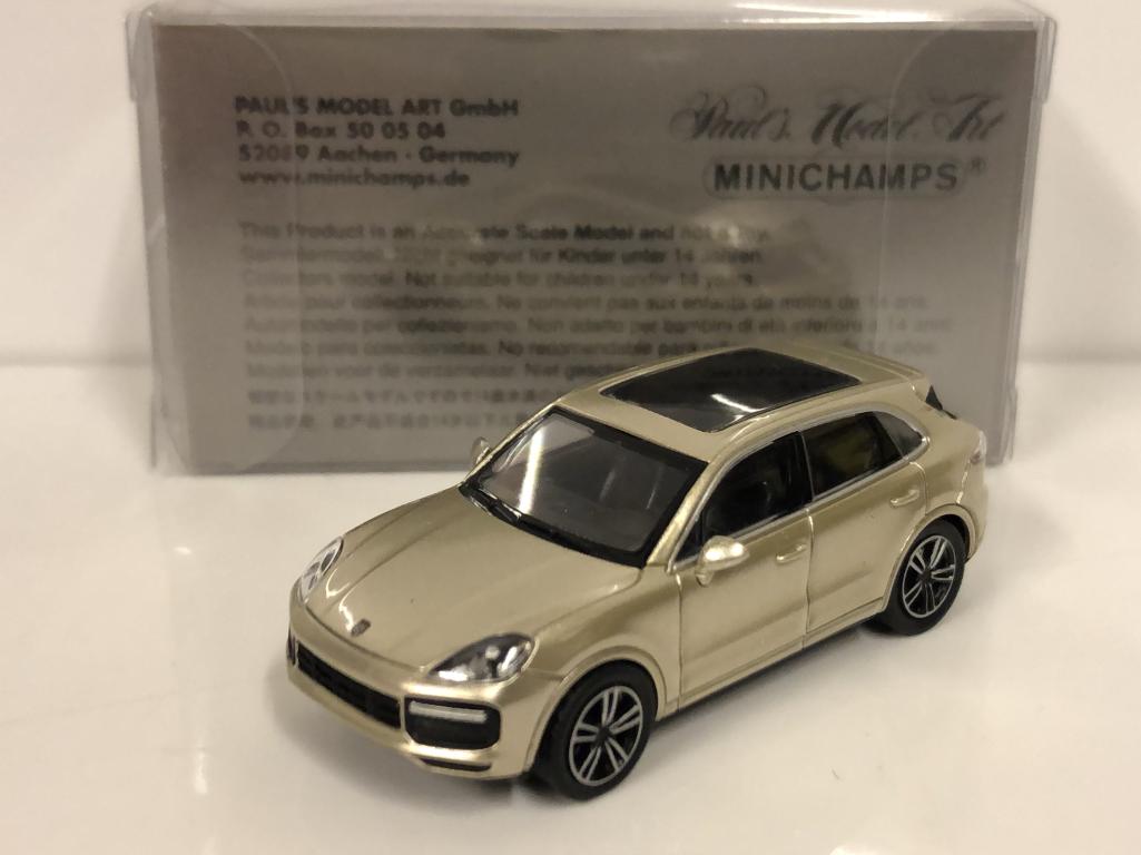Minichamps Minichamps Minichamps 870067200 Porsche Cayenne 2017 gris 1 87 Escala c6c4d4