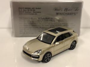 Minichamps 870067200 Porsche Cayenne 2017 Grey 1 87 Scale