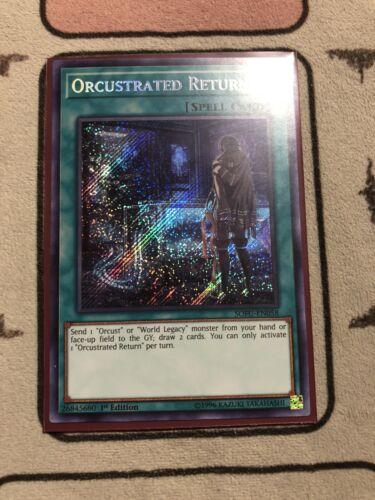 Orcustrated Return Yugioh SOFU-EN058 Secret Rare 1st Edition NM