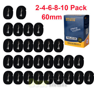 NEW-BULK-Heavy-Duty-RACE-28-700c-x-23-25-60mm-Stem-Presta-Valve-Bike-Inner-Tube