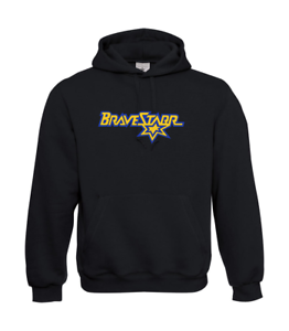 Marshall-Bravestarr-Logo-I-Patter-I-Fun-I-Funny-to-5XL-I-Men-039-s-Hoodie