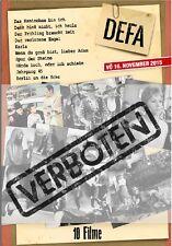 Verboten - 10 DEFA Film Box (10 DVDs)( DDR TV-Archiv) mit Manfred Krug