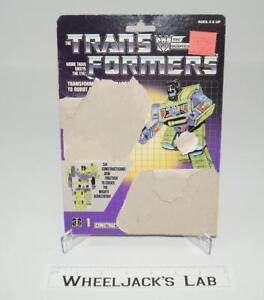 Bonecrusher-Devastator-Cardback-Vintage-1985-G1-Transformers-Action-Figure