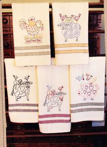 PATTERN-Animal-Stackers-Tea-Towels-stitchery-PATTERN-Bird-Brain-designs