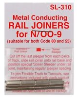 PECO SL-310 Fishplates x 24 (Track Joiners) 'N' Gauge Code 80 &55 Track 1st Post