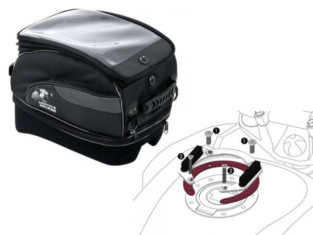 Honda NT700V Deauville Yr 06 To 12 Tourer XL Lock It Motorcycle Tank Bag Set