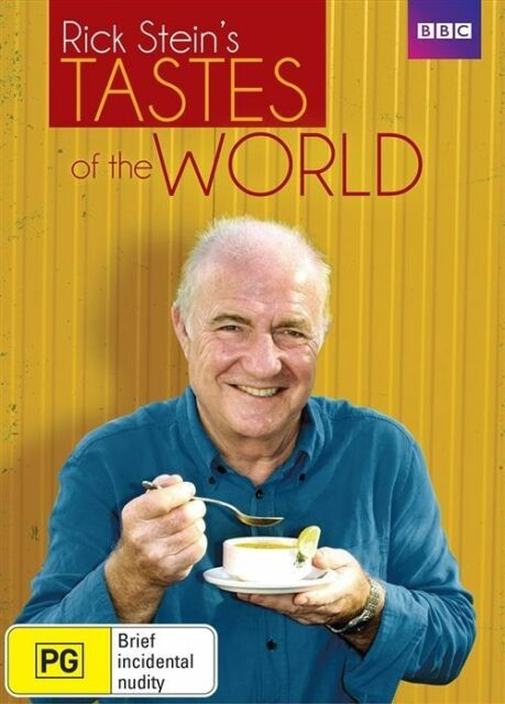 Rick Stein - Tastes Of The World (DVD, 2015,2-Disc) R4 New, ExRetail Stock (D163