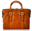 miniatura 1 - Cartella Ventiquattrore THE BRIDGE Briefcase  porta PC Pelle marrone 40x30x11...