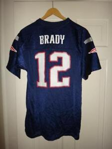 Youth Tom Brady  12 New England Patriots Team Color Mid Tier Jersey ... e4dae6669