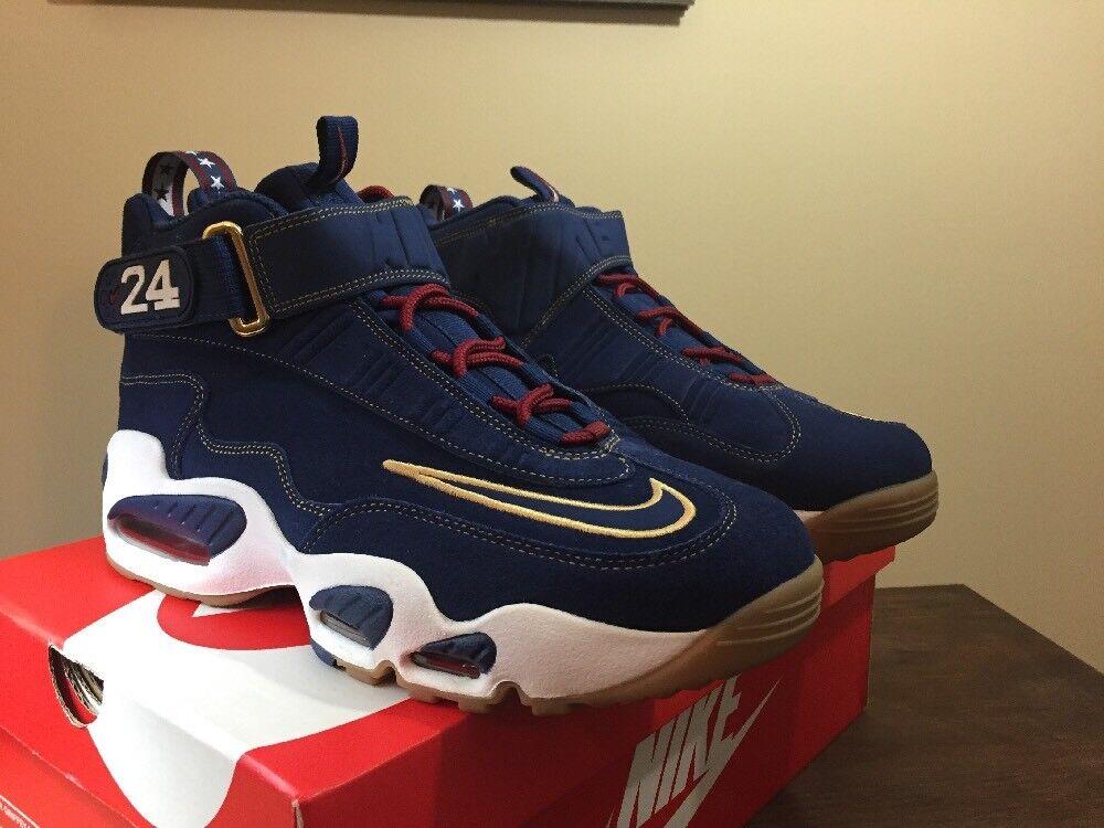Nike Air Max Griffey 1 Prez QS HOF Hall of Fame Size 10.5 (853014-400)