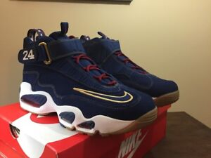 NIKE AIR GRIFFEY Max 1 Prez QS Mens Size 11.5 Shoes HOF Hall Of Fame 853014 400