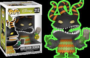 FUNKO POP  Nightmare Nightmare Nightmare Before Christmas Harlequin Demon Glow in the Dark - limited 254582
