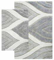 Chesapeake Merchandising Davenport 2-piece Bath Rug Set, 21 By 34-inch/24 By 40-